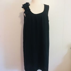 Banana Republic Sheath Dress Size 10 Black